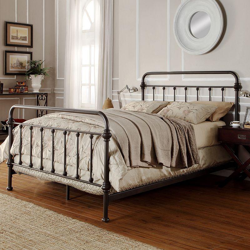 Upc 782359183749 Weston Home Nottingham Metal Bed Queen