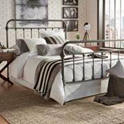 HomeVance Alaina Metal Bed