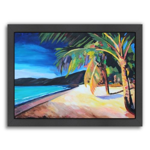 "Americanflat ""Magens Bay St Thomas Usvi"" Framed Wall Art"