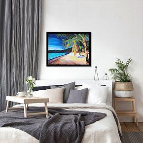 "Americanflat ""Magens Bay St Thomas Usvi"" Framed Wall Art"