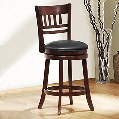 HomeVance Arago 24-in. Swivel Counter Stool