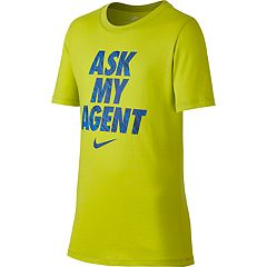 Boys 8-20 Nike Ask My Agent Tee