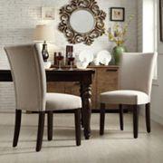 HomeVance Denargo 2 pc Parson Side Chair Set