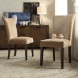 HomeVance Denargo 2-pc. Parson Side Chair Set
