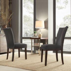 HomeVance Denargo Printed Side Chair 2-piece Set