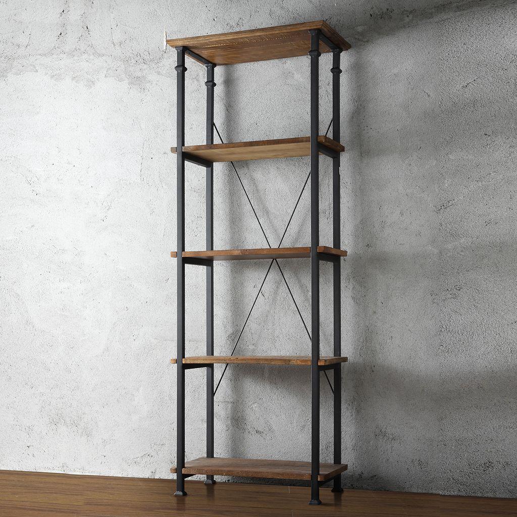 HomeVance Derry Narrow 4-Shelf Bookcase