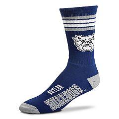 Adult For Bare Feet Butler Bulldogs Deuce Striped Crew Socks