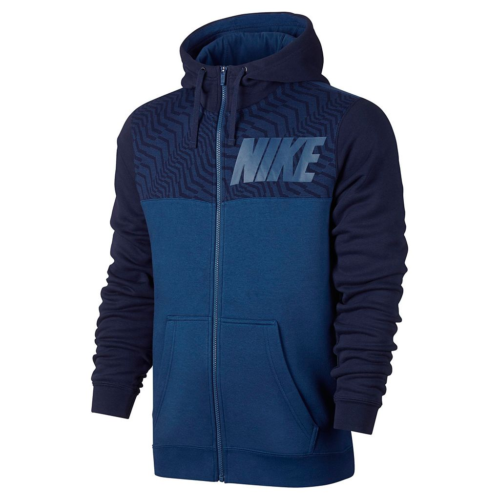 Men's Nike Colorblock Fleece Hoodie