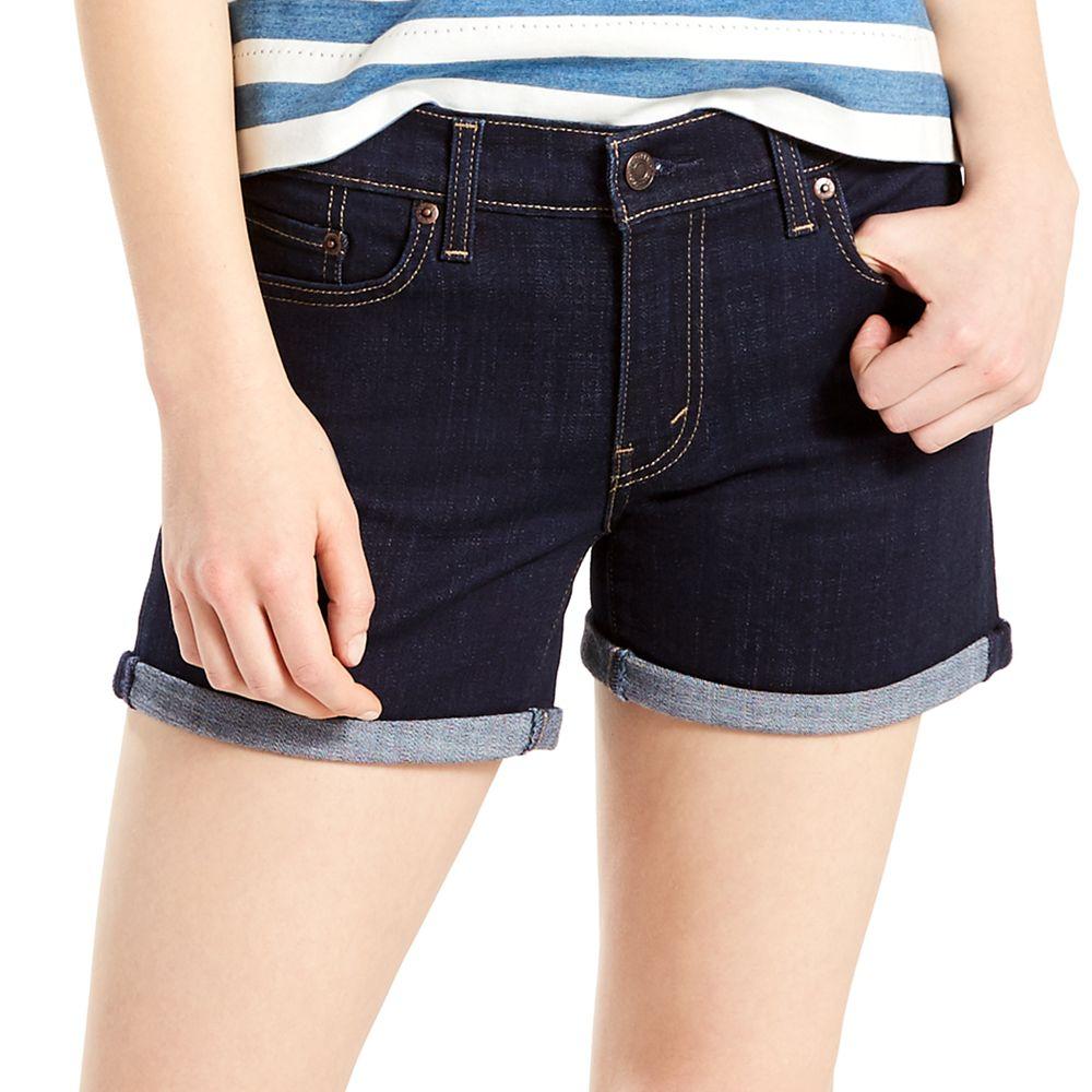 Levi's Mid-Length Jean Shorts