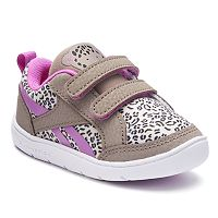 Reebok VentureFlex Critter Feet Toddler Girls' Leopard Sneakers