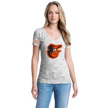Women's Baltimore Orioles Space-Dyed Tee