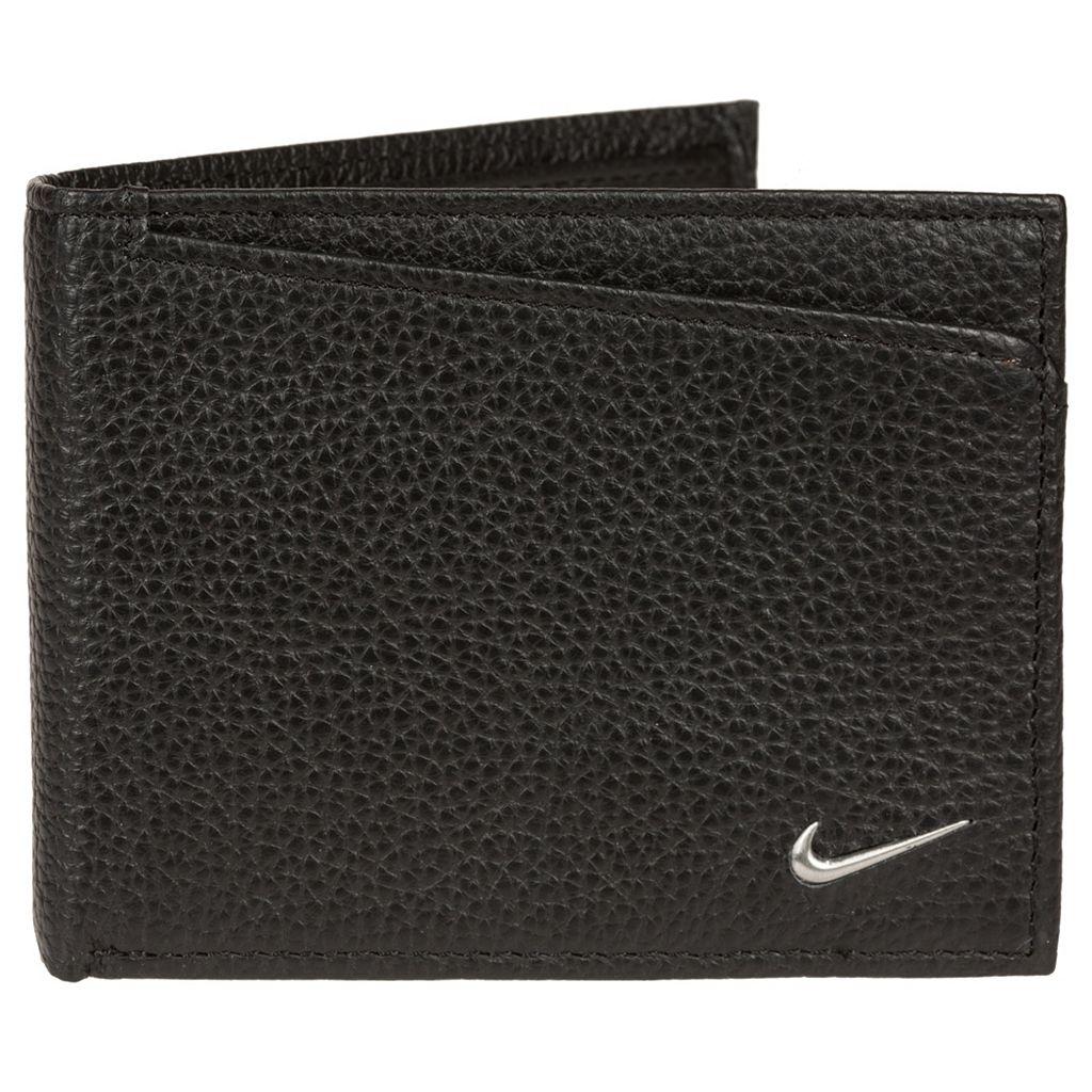 Men's Nike Leather Passcase Wallet
