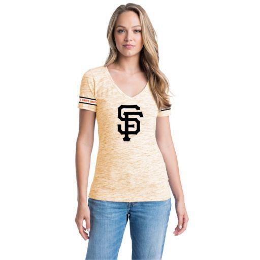 Women's San Francisco Giants Space-Dyed Tee