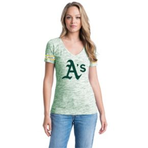 Women's Oakland Athletics Space-Dyed Tee