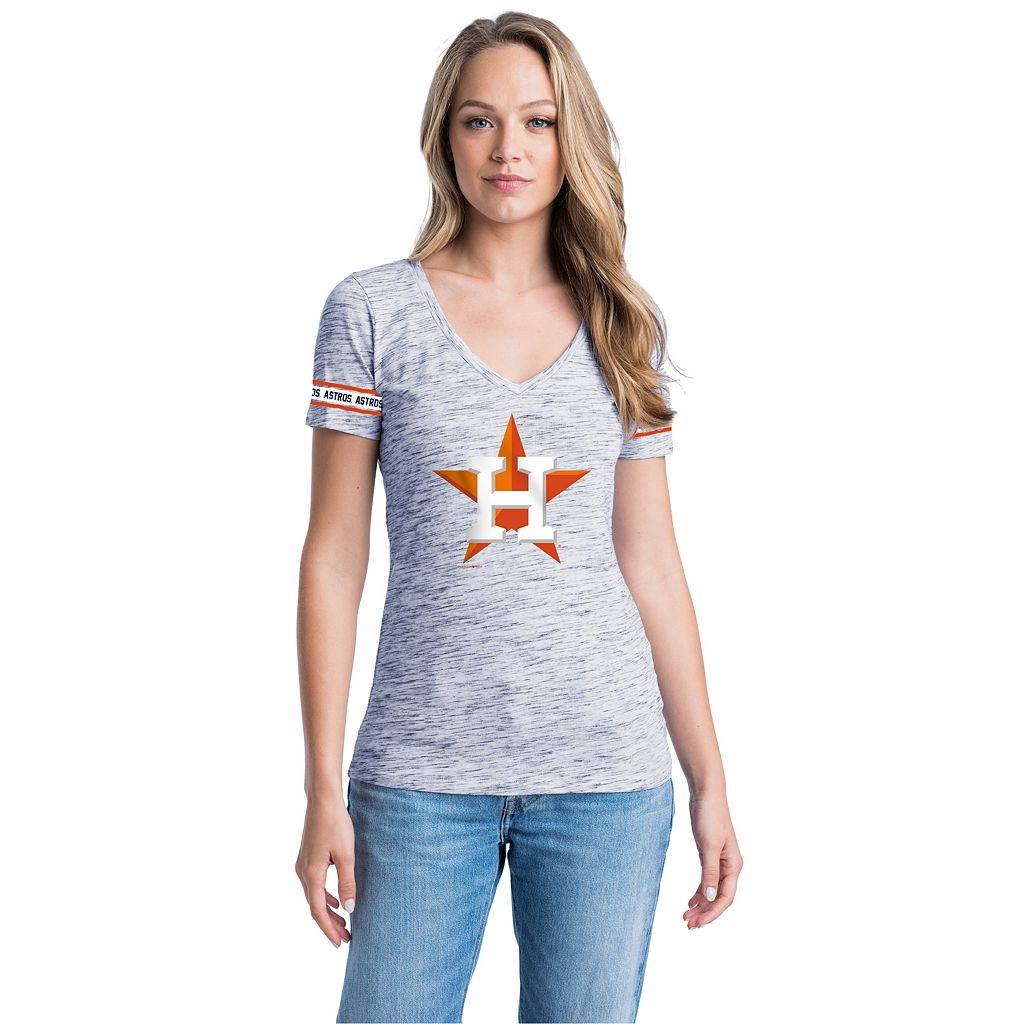 Women's Houston Astros Space-Dyed Tee