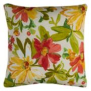 Rizzy Home Elberta Floral Indoor Outdoor Throw Pillow
