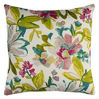 Rizzy Home Elberta Floral Indoor Outdoor Throw Pillow