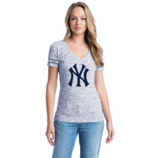 Women's New York Yankees Space-Dyed Tee