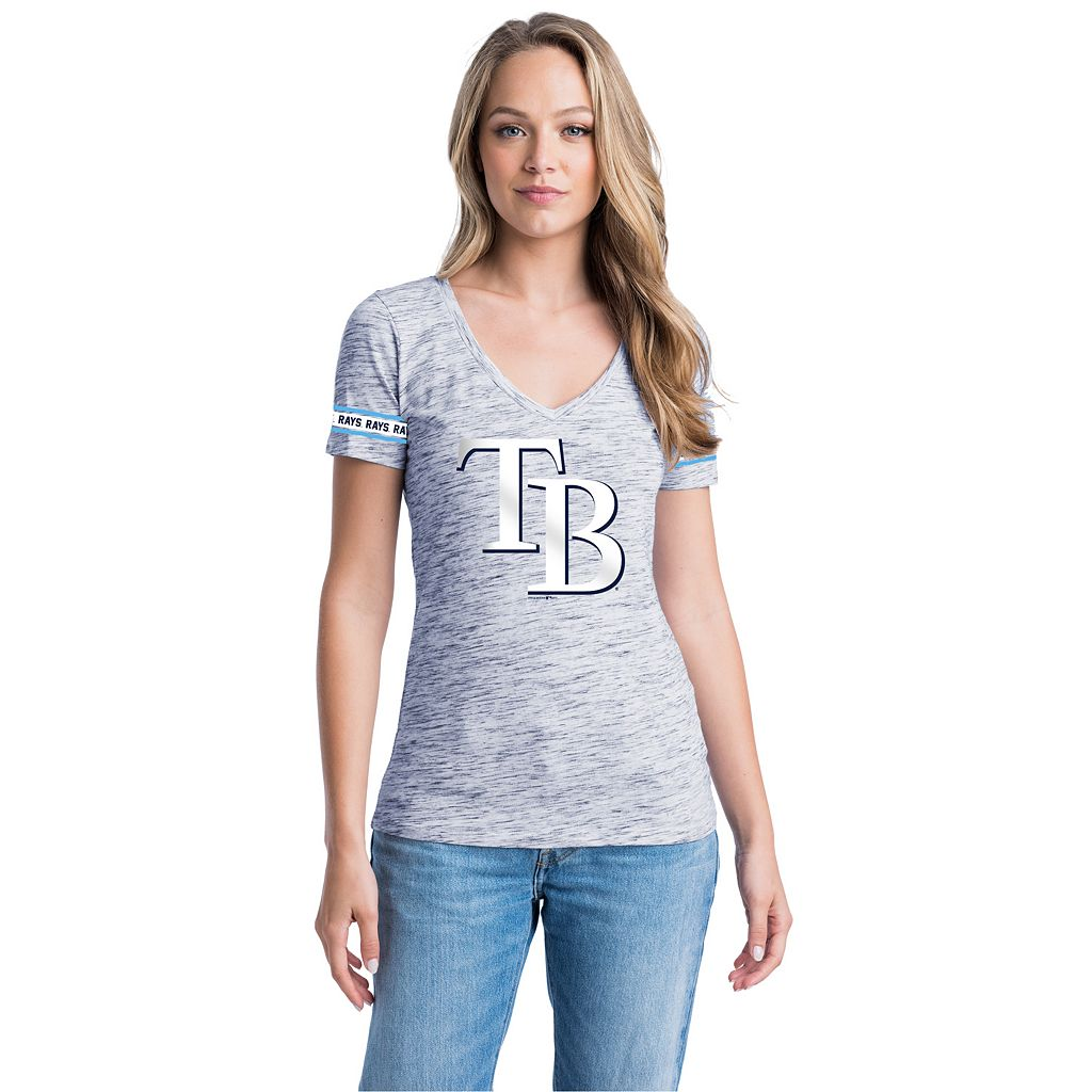 Women's Tampa Bay Rays Space-Dyed Tee