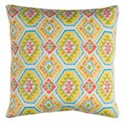 Rizzy Home Eresha Geometric Indoor Outdoor Throw Pillow