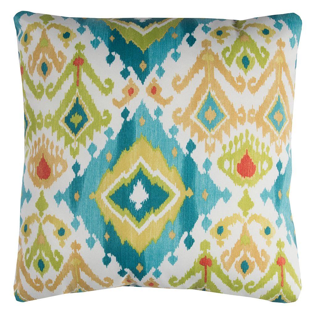 Rizzy Home Lavezzi Geometric Indoor Outdoor Throw Pillow