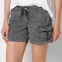 Petite Size SONOMA Goods for Life™ D-Ring Utility Shorts