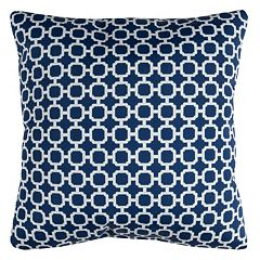 Rizzy Home Hockley Geometric Indoor Outdoor Throw Pillow