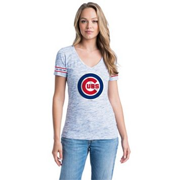 Women's Chicago Cubs Space-Dyed Tee