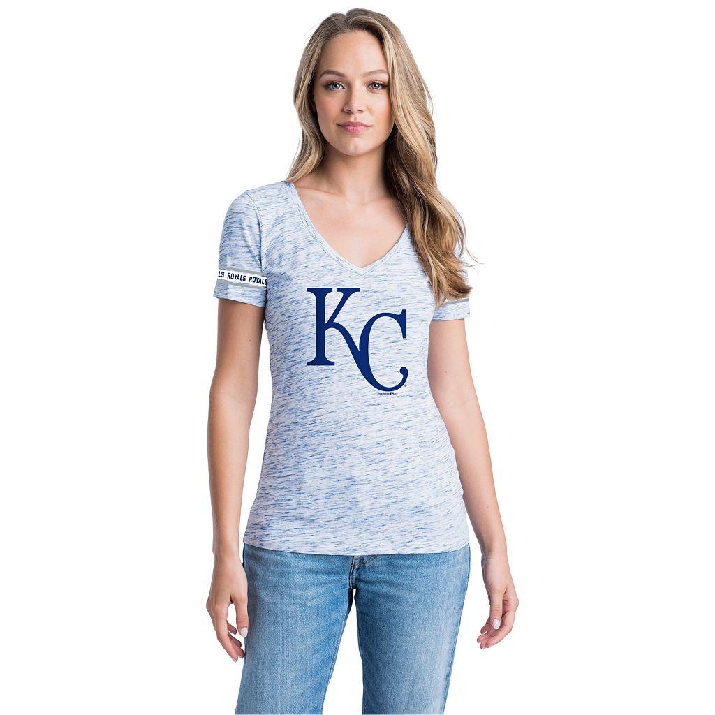 Women's Kansas City Royals Space-Dyed Tee