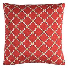Rizzy Home Eaton Geometric Indoor Outdoor Throw Pillow