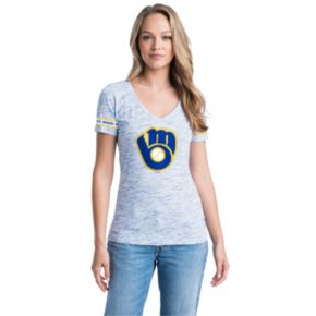Women's Milwaukee Brewers Space-Dyed Tee