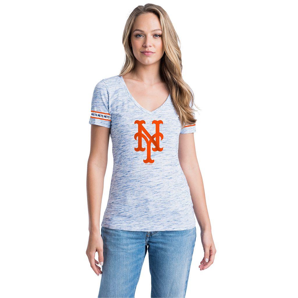 Women's New York Mets Space-Dyed Tee