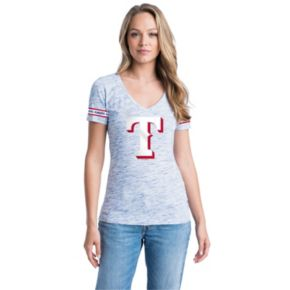 Women's Texas Rangers Space-Dyed Tee