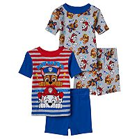 Toddler Boy Paw Patrol Chase and Marshall 4-pc. Pajama Set