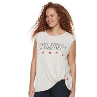 Plus Size Rock & Republic® ''Stars, Stripes, & Dreams'' Tank
