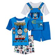 Toddler Boy Thomas the Tank Engine 4 pc Pajama Set
