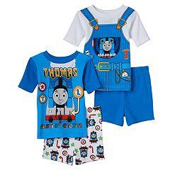 Toddler Boy Thomas the Tank Engine 4 pc Pajama Set