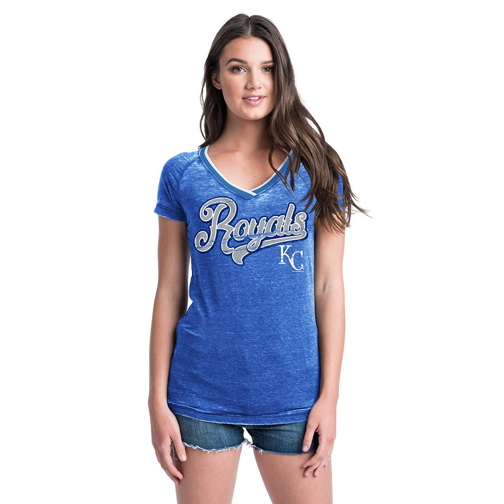 Women's Kansas City Royals Burnout Tee