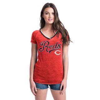 Women's Cincinnati Reds Burnout Tee
