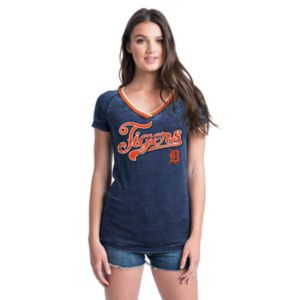 Women's Detroit Tigers Burnout Tee