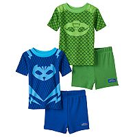 Toddler Boy PJ Masks Catboy & Gekko 4 pc Pajama Set