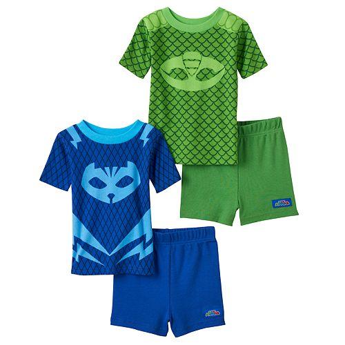 Toddler Boy PJ Masks Catboy & Gekko 4-pc. Pajama Set