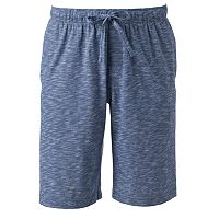 Men's Croft & Barrow® Slubbed Knit Jams Shorts