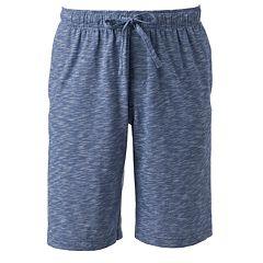 Men's Croft & Barrow® Slubbed Knit Jams Shorts