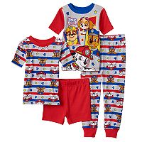 Toddler Boy Paw Patrol Chase, Marshall, Skye & Rubble 4-pc. Pajama Set