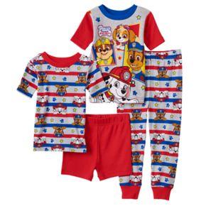 Toddler Boy Paw Patrol Chase, Marshall, Skye & Rubble 4-pc. Pajama Set