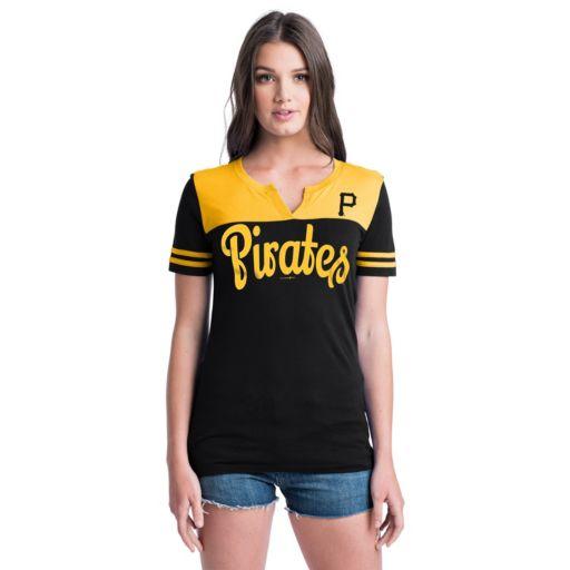 Women's Pittsburgh Pirates Jersey Tee
