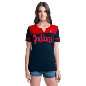 Women's Cleveland Indians Jersey Tee