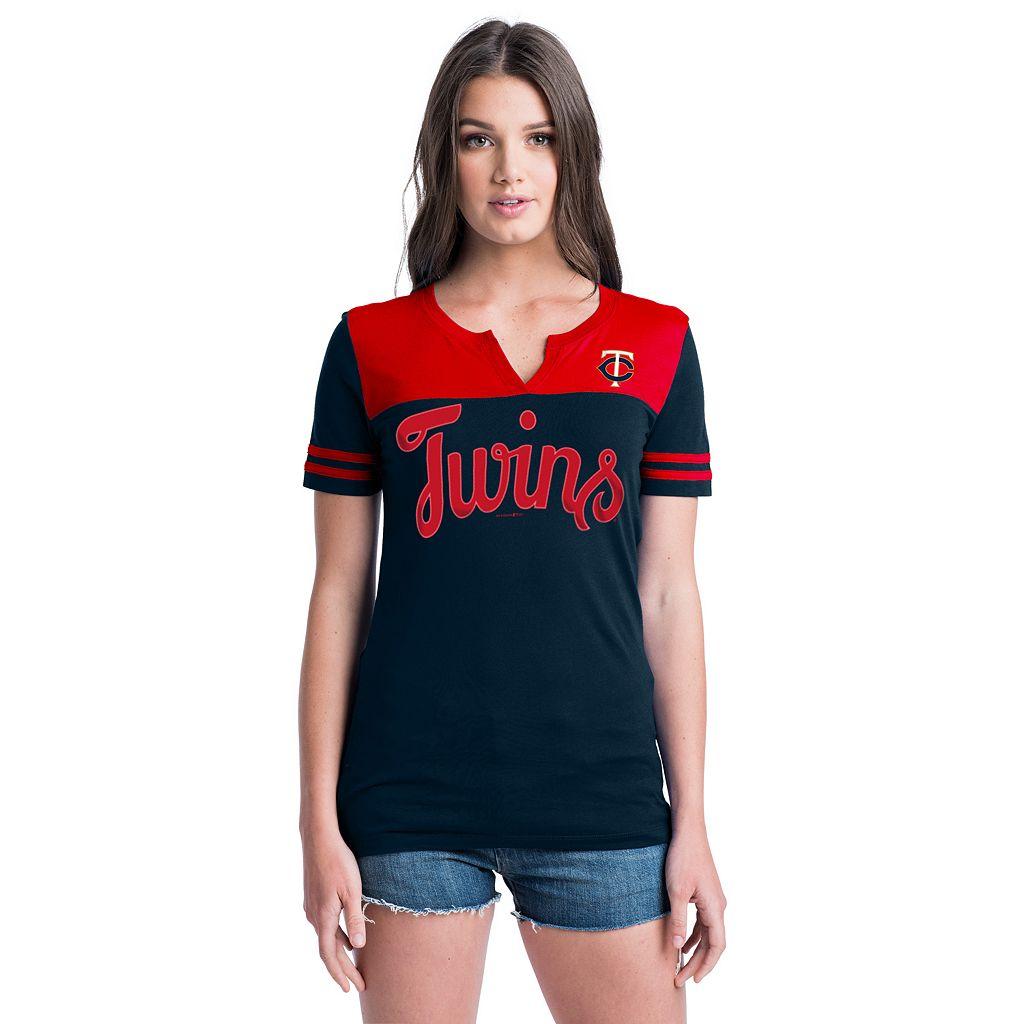 Women's Minnesota Twins Jersey Tee