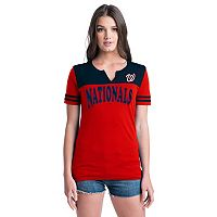 Women's Washington Nationals Jersey Tee